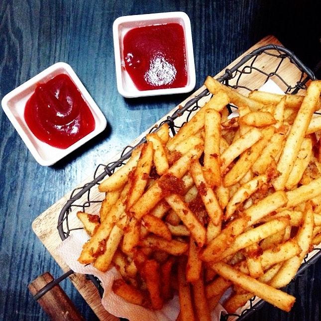 Garlic Fries.