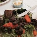 Beef cubes Salad