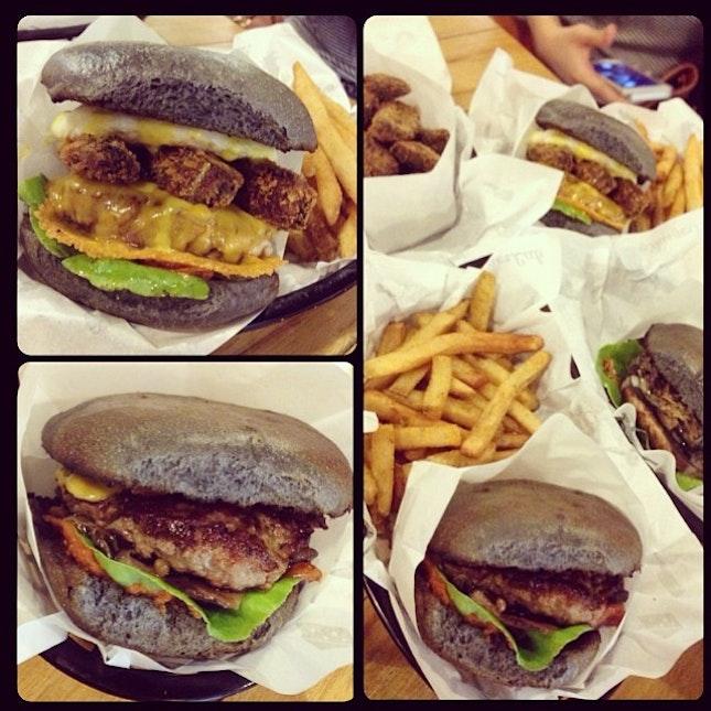Burger In Kl part 1 😍🍔👍 #burgerlab #bigmess #A+ #yummy
