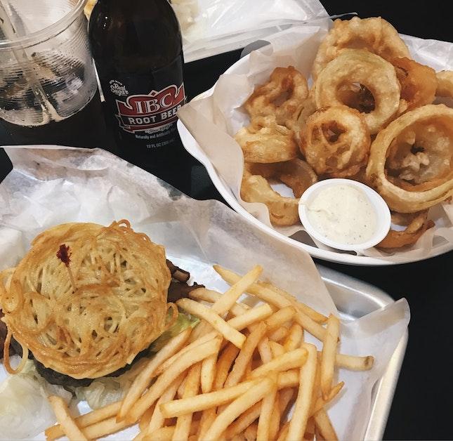 Ramen Burger ($12.20)