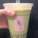 Genmaicha Milk Tea With Chestnut Pearl