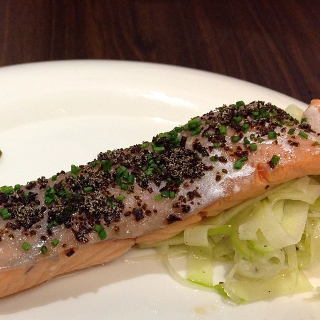 Salmon Confit #livetoeat #sgfood #sgig