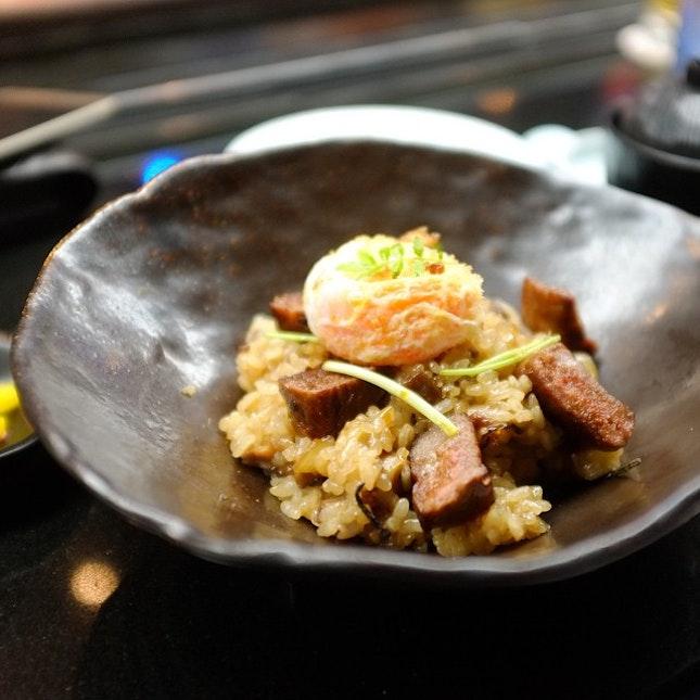 Kagoshima (鹿児島) Wagyu beef don with crispy egg @ Mikuni #latergram