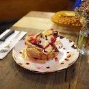 Blueberry bagels for brekkie at @manchesterpress