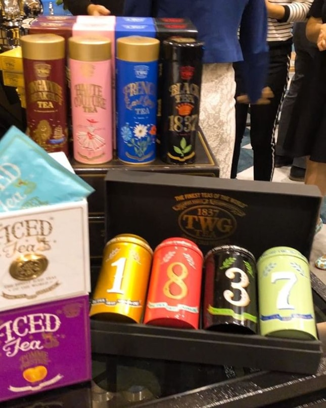 On a #tea craze so I was super excited when I saw all these @TWGTeaOfficial teas!
