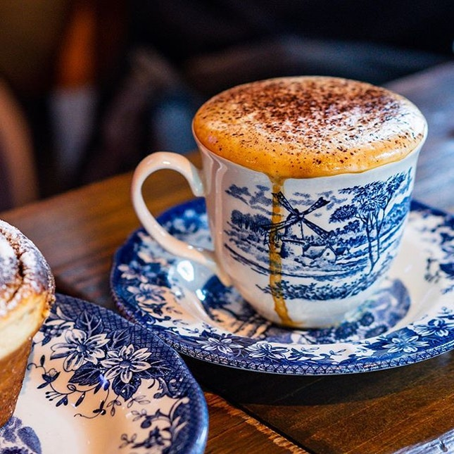 All I'm thinking about is retreating to a warm corner with a delicious cappuccino and fresh bakes right now.