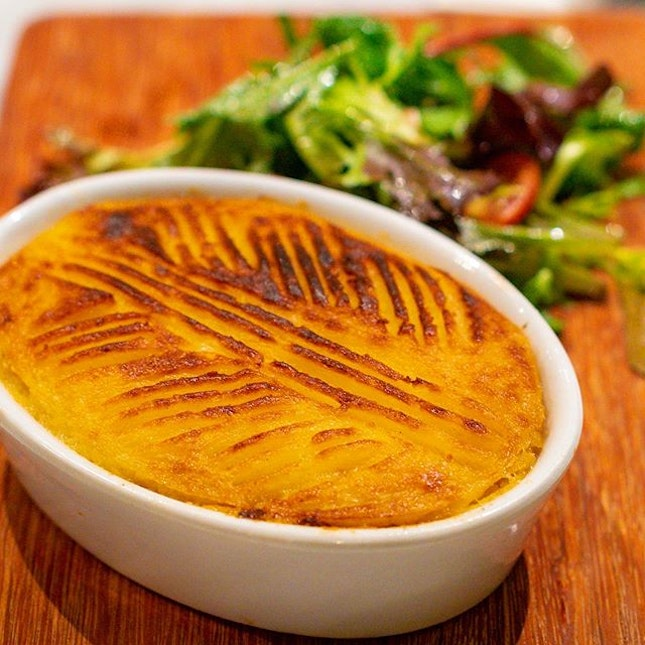 Can't go wrong with Violet Oon's masterful, gloriously golden and buttery Shepherd's Pie.