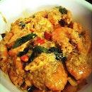 #menu for today's buka later #butterprawns without the cereals #homemade #homecooked #foodie #foodporn #foodsofinstagram #sgfoods #nomnom #yeayimadeit #masakmasak #happygirl #prawns #fooooodddd #igers #TagsForLikes