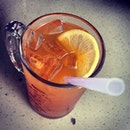 Icy cold #icelemontea #drinks #thirstquencher #lemon #colddrinks