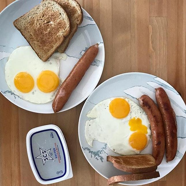 Sunday breakfast.