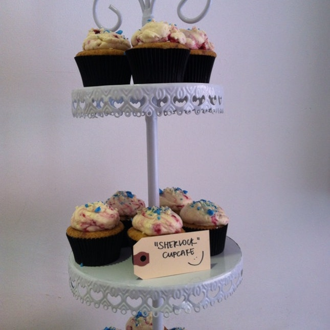 Sherlock Cupcakes