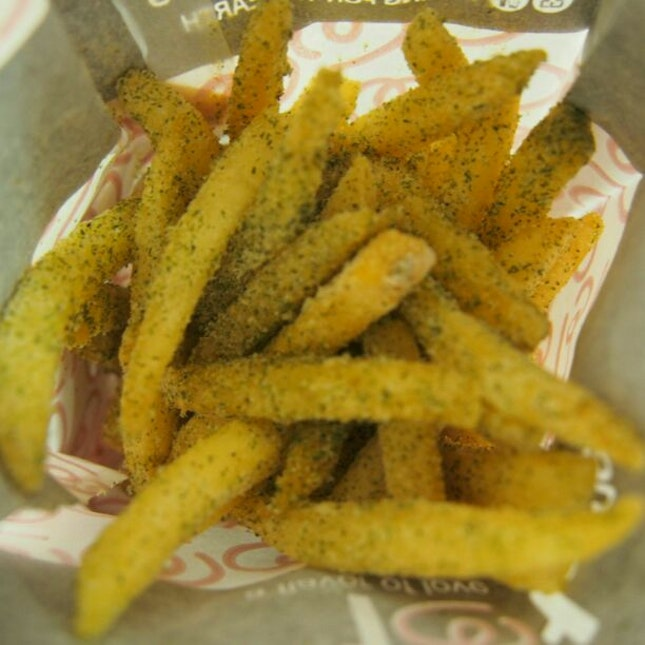 Favourite Seaweed Fries