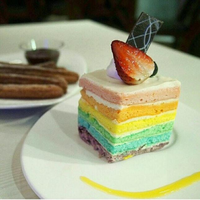 Medzs Famous Rainbow Cake