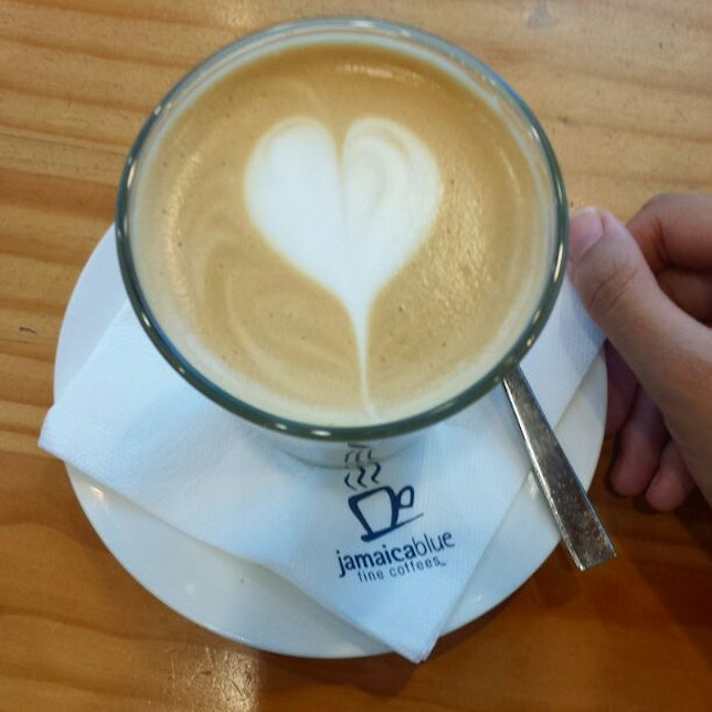 Latte In Their Signature Blend