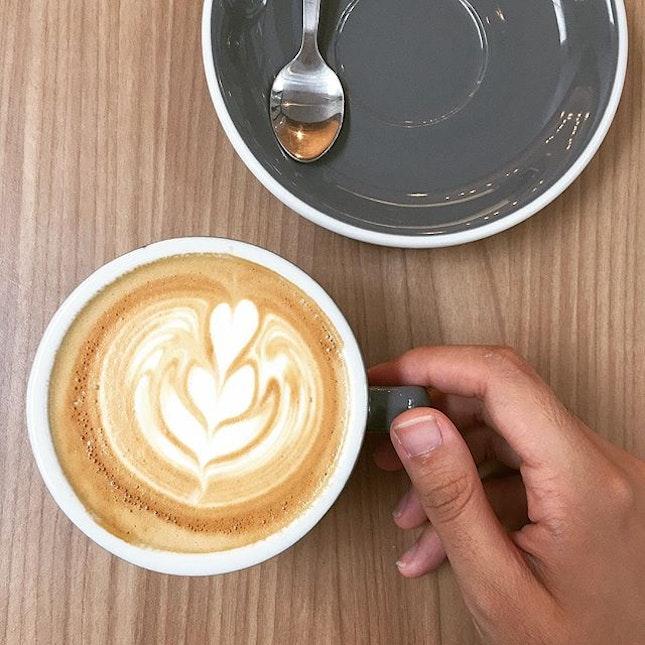 It's coffee o'clock 😴💤 Flat White ($4.90).