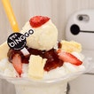 Someone has their eye on the Strawberry Cheesecake Bingsoo ($6.90) from @eatbinggo!