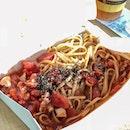 Bacon Arrabbiata ($5!!)