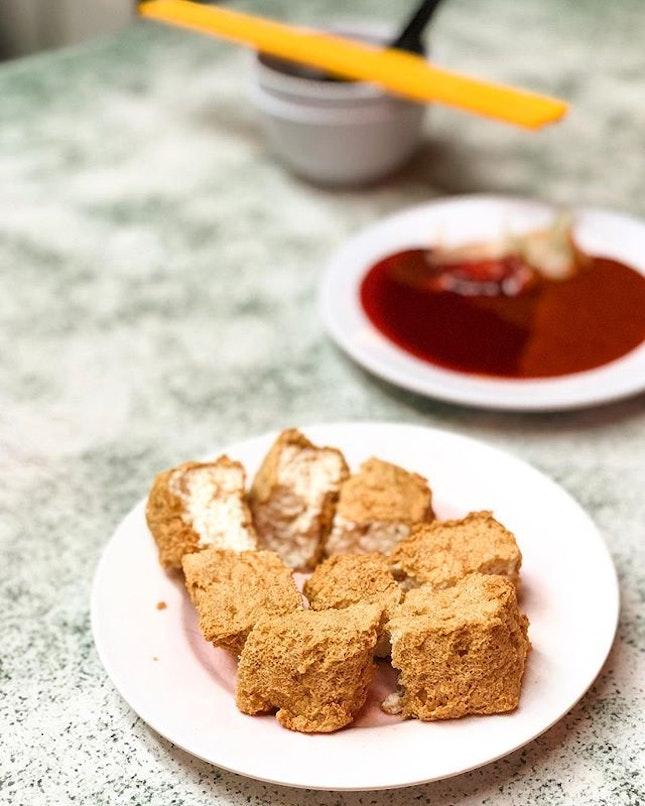 So darn good - Smelly Tofu ($4).