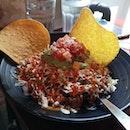 Fire chicken burrito bowl.