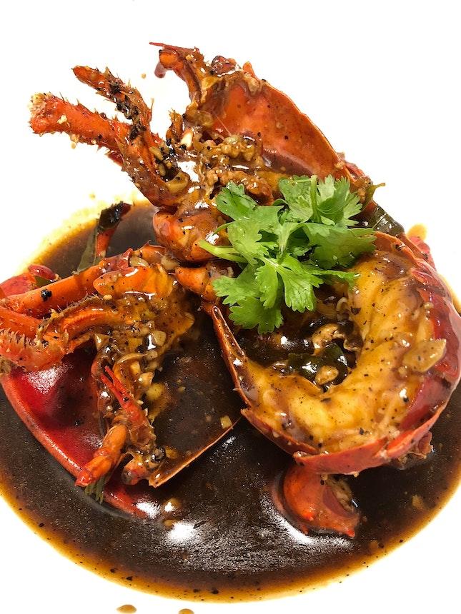 Black Pepper Lobster