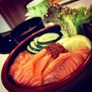 Salmon With Ikura Ju