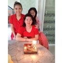 Happy Birthday to My Beloved Wonder Mom 🍰 Wish you all the best 🍰 Long Live 🍰 Keep healthy 🍰 GBU #my#mom#birthday#gbu#wuatb#longlive#loveyou#love#indonesia#jakarta#red#family#mom#birthday#chinese#cake#instagram#foodporn