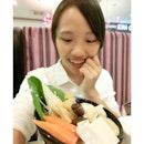 是不是吃货 看表情就知道了😅 Arashi Shabu-shabu  日式火锅  最好吃就是你啦😍