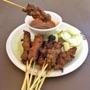 Mutton & Beef Satay $0.70/pc