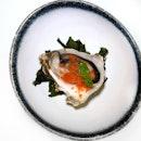 Fresh Oyster w/ Smoked Tomato Sorbet