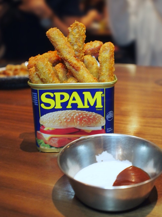 Spam Fries $9