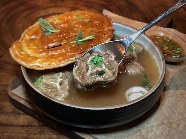 Sichuan Oxtail Soup $24
