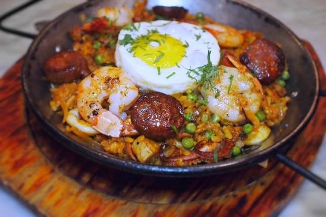 Seafood & Meat Paella