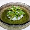 Prawns Warmed In Starfruit Juice w/ Herbs
