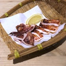 Grilled Japanese Squid $8.5