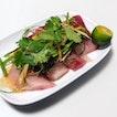 Amberjack Sashimi $12