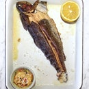 Salt Baked Trout $44