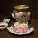 Pork Shabu-Shabu Oroshi Hotpot $22
