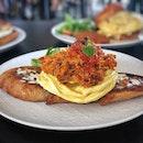 Crab & Signature Scrambled Eggs On Toast $24