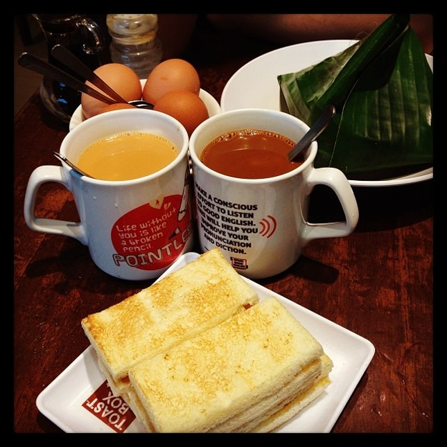 #traditional #breakfast #instafood #toastbox 🍴🍞