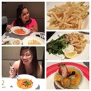 Belated #birthday #dinner #celebration for 1 of my closest mummy #friends 2 days ago.