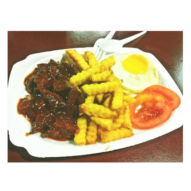 Noms  #muttonchop #foodporn #dinner #kauade?