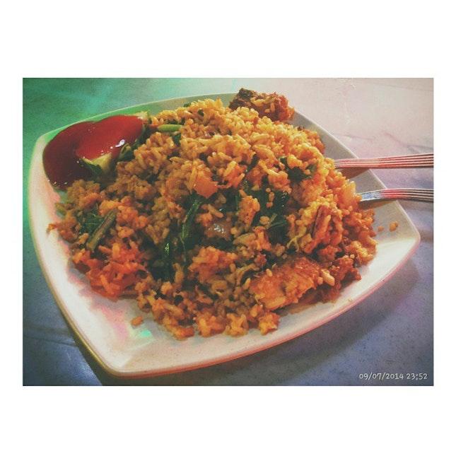 #Supper-dek; Nasi Goreng Ayam