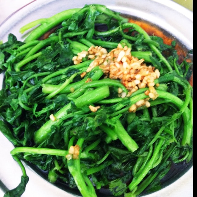 Fried Xi Yang Cai 炒西洋菜