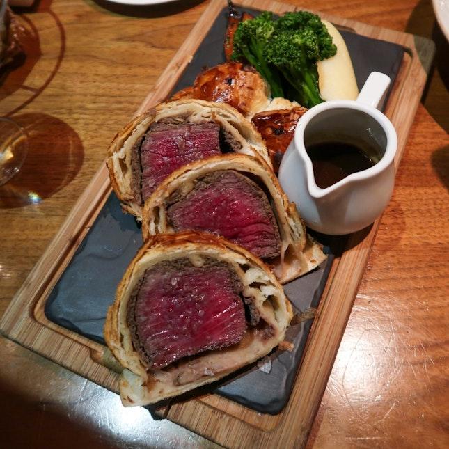 Beef Wellington - Bread Street Kitchen