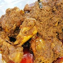 Chicken rendang for lunch at Old Bibik today.