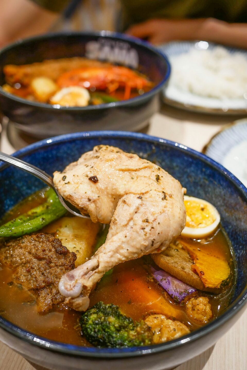 Delicious Sapporo-Style Soup Curry from Japan