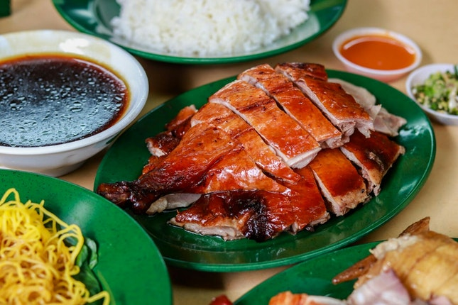 Lost & Found Popular Roast Meat Stall in Tiong Bahru
