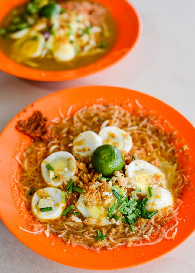 Lovely Mee Siam and Mee Rebus