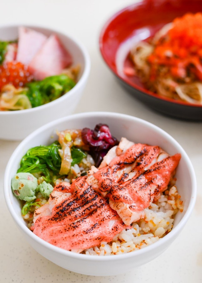 Delicious Truffle-Infused Japanese Rice Bowls
