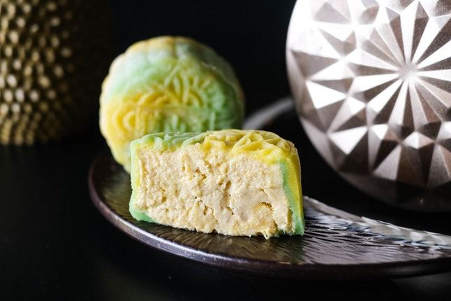 Go Over The Moon with Halal Mao Shan Wang Mooncakes from Bread Garden